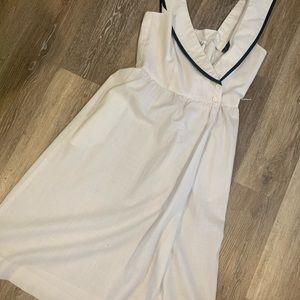Vintage Sailor Inspired Dress